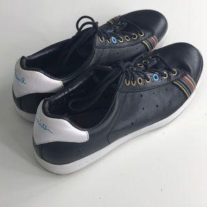 Original Paul Smith rabbit 🐇 Black sneakers sz 8